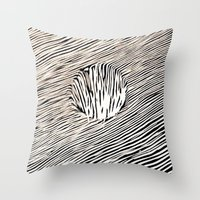 trip Throw Pillows featuring Trip by Diego L.D.