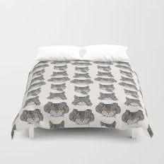 No Evil Cat Duvet Cover