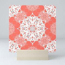 Coraled Mandalas Mini Art Print