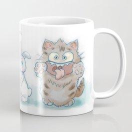 Goofy Cat Coffee Mug