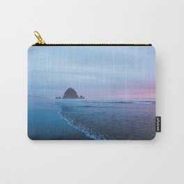 Haystack Rock Sunset Carry-All Pouch