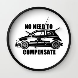 No Need To Compensate Wall Clock