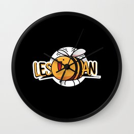Les Bee An | Lesbian Wall Clock