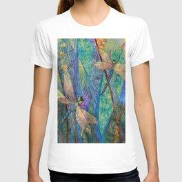 Colorful Dragonflies T-shirt