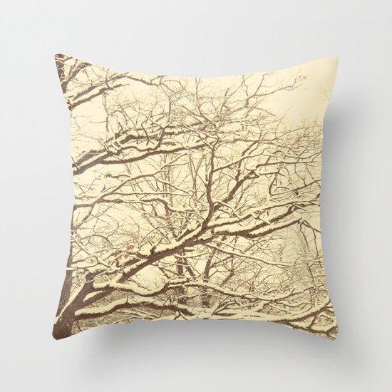 Winter tale 2 Throw Pillow