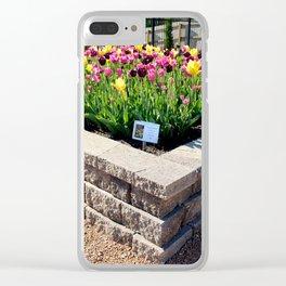 "Muscogee (Creek) Nation - Honor Heights Park Azalea Festival, Tulip ""Critical Mass"" Clear iPhone Case"