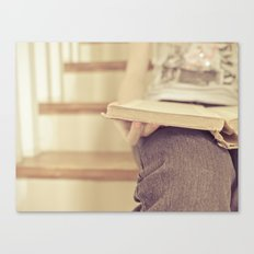 Read...in a quiet place Canvas Print