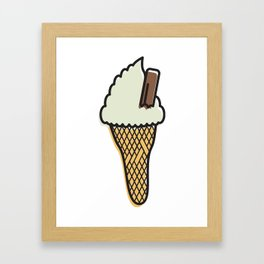 sOFFt set Ice cream Framed Art Print
