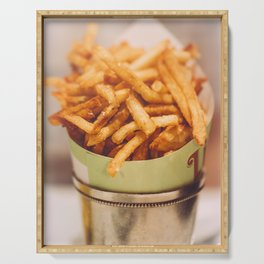 Fries in French Quarter, New Orleans Serving Tray