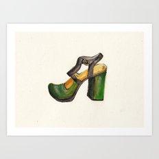 Chie Mihara Art Print