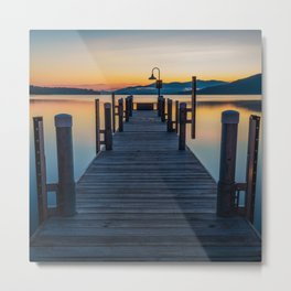 Lake George Metal Print