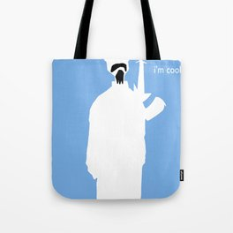 bob the squirrel and frank are cool Tote Bag