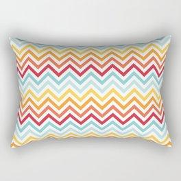 Rainbow Chevron #2 Rectangular Pillow