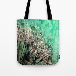Fresh Dandelions Mosaic Tote Bag