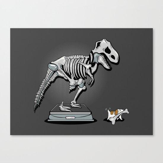Mine! Canvas Print