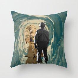 The Hermit Throw Pillow