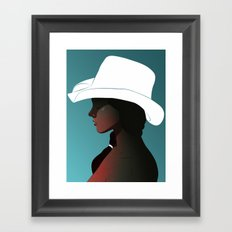 The Shade Framed Art Print