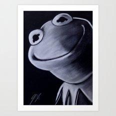 KERMIT Art Print