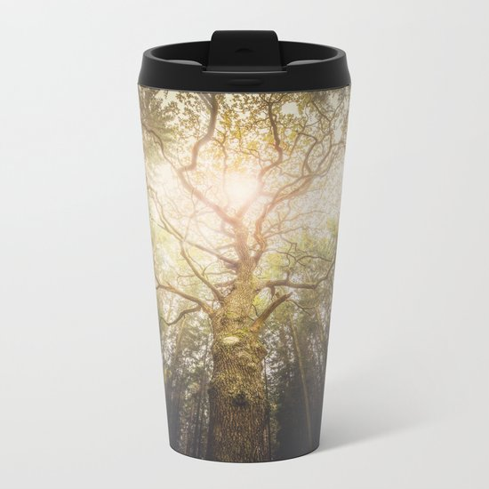 I found a tree in the forest Metal Travel Mug