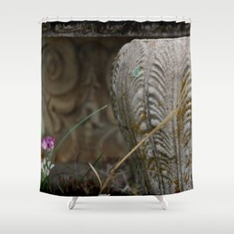 Th Urn Shower Curtain