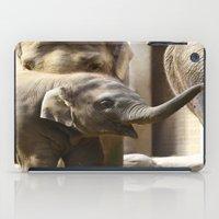 baby elephant iPad Cases featuring Baby Elephant by Päivi Vikström
