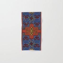 Folk ancient carpet of the Caucasus Hand & Bath Towel