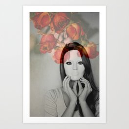 Queen of Roses Art Print