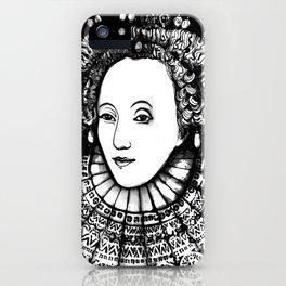 Queen Elizabeth I Portrait  iPhone Case