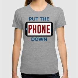 Less Phone More Connection Human Touch T-shirt
