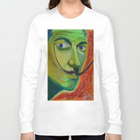 dali Long Sleeve T-shirts featuring Dali by Adam Blount