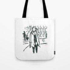 Brush Pen Fashion Illustration - Dreamer Tote Bag