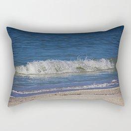 A Wave is But a Whisper Rectangular Pillow