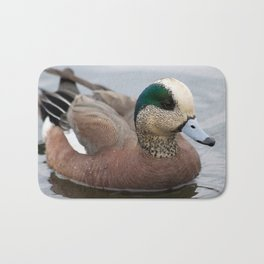 Blue Beak Duck Bath Mat