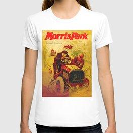 Morris Park Auto Race, vintage poster, race poster T-shirt