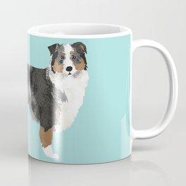 Australian Shepherd blue merle funny dog fart Coffee Mug
