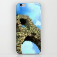 castle in the sky iPhone & iPod Skins featuring Castle by Brian Raggatt