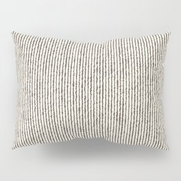 Tie Dye Stripes Charcoal Pillow Sham