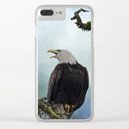 Eagle Art - Character Clear iPhone Case