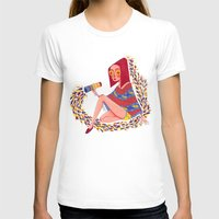 kaleidoscope T-shirts featuring Kaleidoscope by Hannah Lee Stockdale