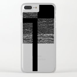uno Clear iPhone Case