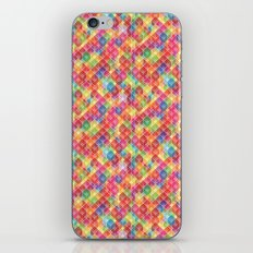 Color Blocks Pattern iPhone & iPod Skin