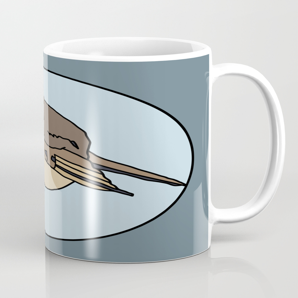 Robin - Robin Redbreast (blue) Mug by Mothpathtags (MUG8922183) photo