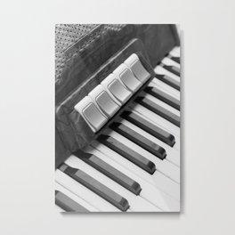 Ziehharmonika Metal Print