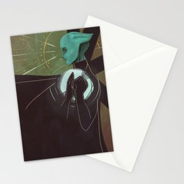 Liara T'Soni Companion Card Stationery Cards