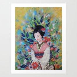 always a maiko Art Print