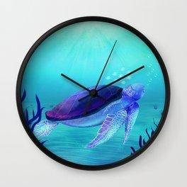 Underwater friends Wall Clock