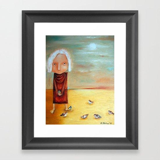St Francis Framed Art Print
