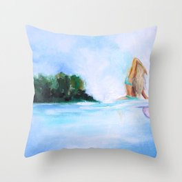 Dreaming Of Nicaragua Throw Pillow