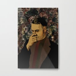 The STENCH Metal Print
