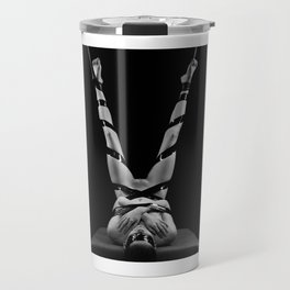 Photograph Bondage Nude - Woman bound Travel Mug